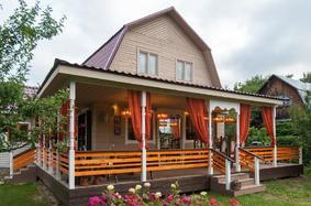 Угловая терраса к дому