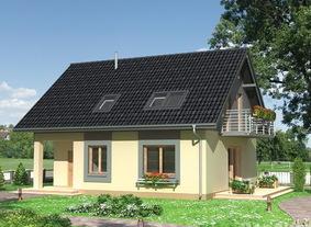 Дачный дом 6х9 из пеноблоков