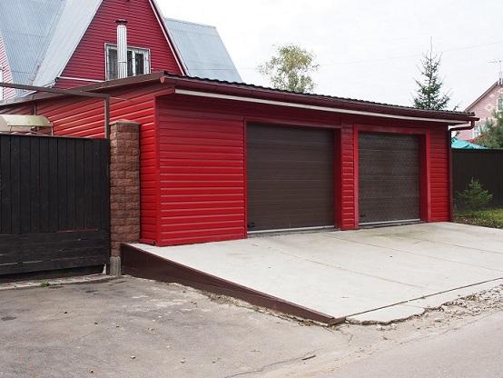 Недорогой гараж своими руками