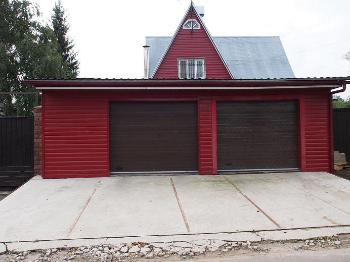 Стоимость постройки гаража под ключ